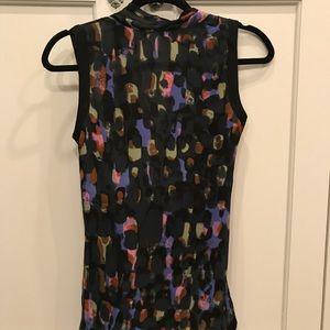 CAbi sleeveless blouse